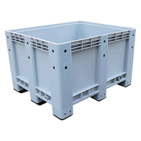 Recycling Heavy Duty Solid Plastic Pallet Bin