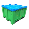 1200x1000x760mm High Quality Virgin Hdpe Solid Plastic Pallet Box for Sale