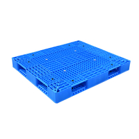 Heavy Duty Double Sides Stackable Reversible Plastic Pallet for Warehouse Storage