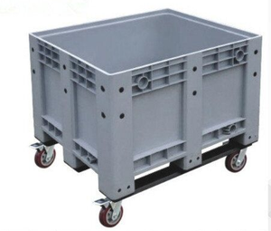 Heavy Duty Agriculture Use Solid Plastic Pallet Box
